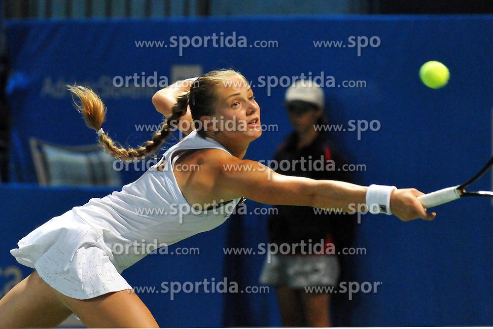 Anna Chakvetadze of Russia at final match of Singles at Banka Koper Slovenia Open WTA Tour tennis tournament, on July 25, 2010 in Portoroz / Portorose, Slovenia. (Photo by Matic Klansek Velej / Sportida)