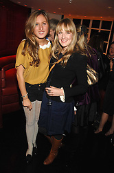 Left to right, ALEXANDRA HOFFMAN and CARLY WITNEY daughter of Twiggy at the launch party of Lisa Hoffman's new bath and shower range, held at Harvey Nichols, Knightsbridge, London on 23rd October 2007. <br /><br />NON EXCLUSIVE - WORLD RIGHTS
