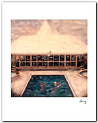 Ship's Pool 1989 11x14 signed archival pigment print free shipping USA.