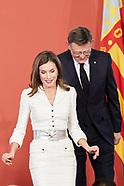 103017 Queen Letiiza attends the Delivery of the 29th edition of the 'Premios Rey Jaime I'