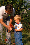 Kaare Sunnarvik and his son, Morten.©1988 Edward McCain. All rights reserved. McCain Photography, McCain Creative, Inc.