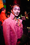 """Frederick Mead at the New Orleans Radical Faeries' St. Brigid Ball, """"Clowns-Only Luau"""", at the AllWays Lounge"""