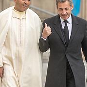 LUX/Luxemburg/20190504 - Funeral of HRH Grand Duke Jean/Uitvaart Groothertog Jean, Rachid of Morocco <br /> French former President Nicolas Sarkozy