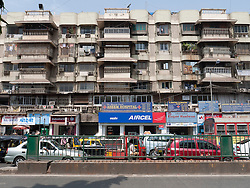 Cars, shops and flats, Mumbai