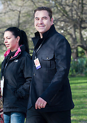 David Walliams taking part in a one mile run for Sport Relief charity in London, 25th March 2012.  Photo by: i-Images