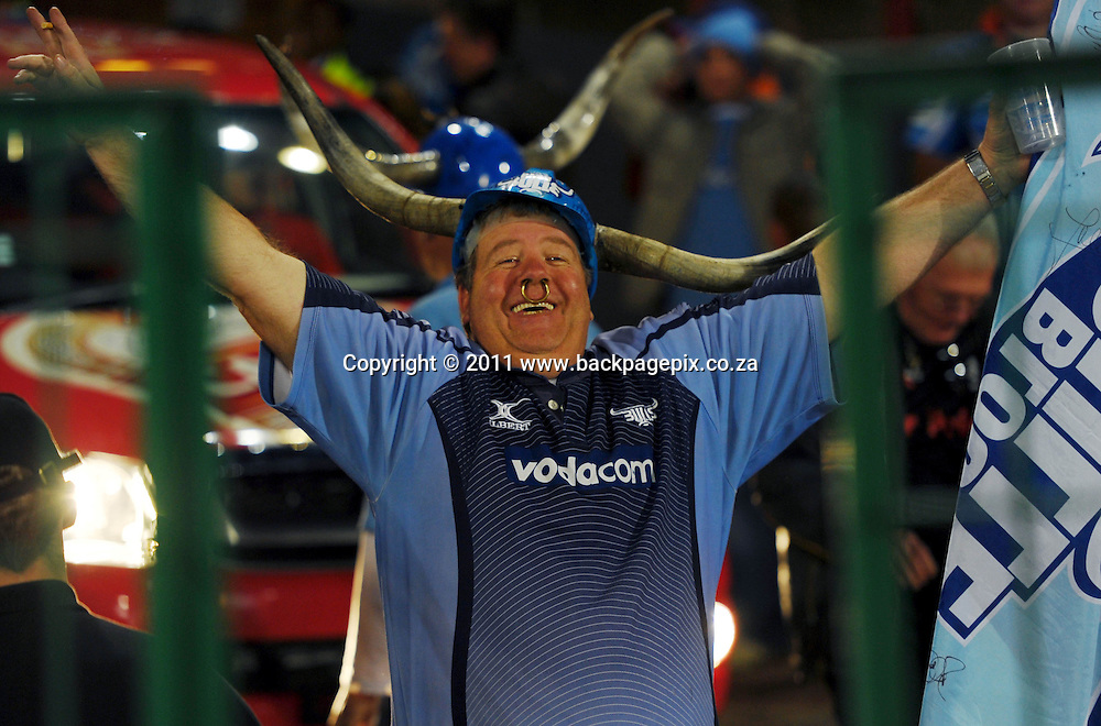 A Bulls fan<br /> &copy; Barry Aldworth/Backpagepix