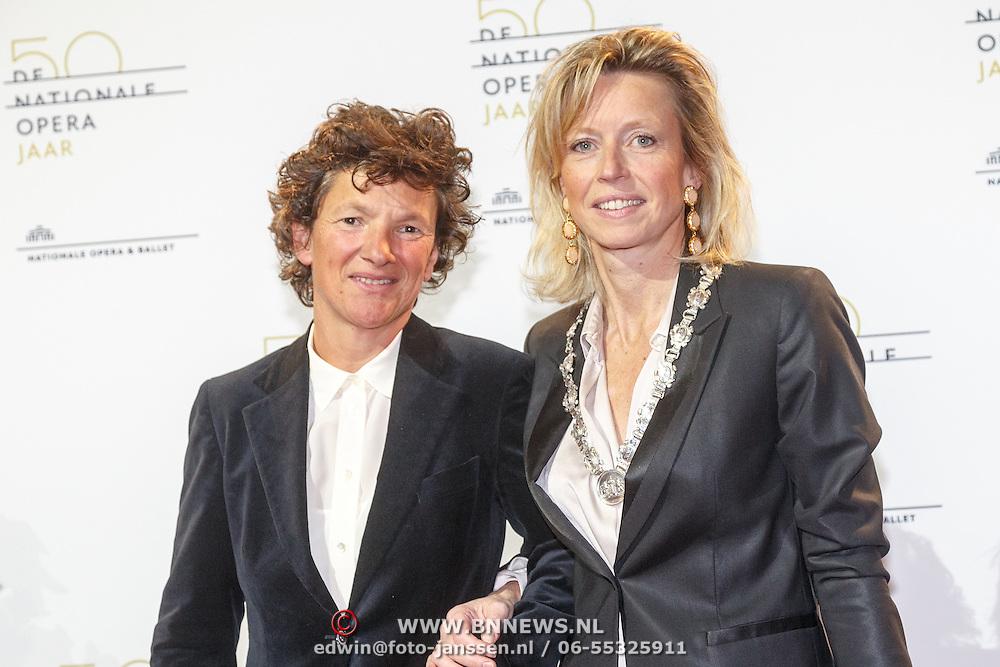 NLD/Amsterdam20151106 - Nationaal Opera Gala 2015, Kajsa Ollongren en partner ................