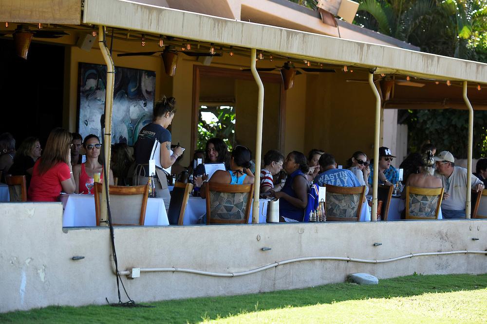 USA, Hawaii, Maui , Paia, Mamas Fish House