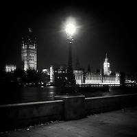 Houses of Parliament, London ,Uk at night