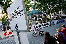Rider competes during Stage 1of  cycling race 20th Tour de Slovenie 2013 - Time Trial 8,8 km in Ljubljana,  on June 12, 2013 in Slovenia. (Photo By Vid Ponikvar / Sportida)