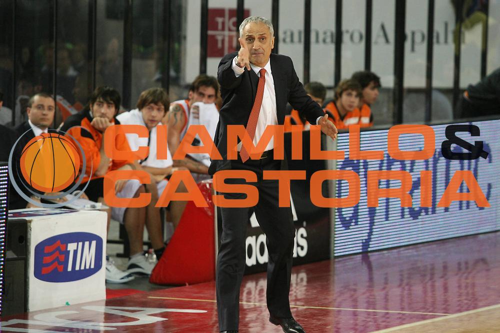 DESCRIZIONE : Roma Lega A1 2007-08 Lottomatica Virtus Roma Snaidero Udine<br />GIOCATORE : Cesare Pancotto<br />SQUADRA : Snaidero Udine<br />EVENTO : Campionato Lega A1 2007-2008<br />GARA : Lottomatica Virtus Roma Snaidero Udine<br />DATA : 16/12/2007<br />CATEGORIA : Ritratto<br />SPORT : Pallacanestro<br />AUTORE : Agenzia Ciamillo-Castoria/G.Ciamillo