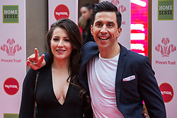 London, UK. 13th March, 2019. Lindsey Cole and Russell Kane arrive at the London Palladium to attend the annual Prince's Trust Awards to be presented by HRH the Prince of Wales, President of the Prince's Trust. The Prince's Trust and TKMaxx & Homesense Awards recognise young people who have succeeded against the odds, improved their chances in life and had a positive impact on their local community.