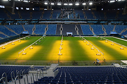 January 30, 2018 - St. Petersburg, Russia - Russia. St. Petersburg. January 30, 2018. The first stage of final visit of FIFA on St. Petersburg stadium in the run-up to the soccer-2018 World Cup. View of St. Petersburg stadium. (Credit Image: © Andrey Pronin via ZUMA Wire)