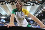 Jesse Wagstaff #18 of Australia during the Australia v Philippines, 1st Round, Group B, Asian Qualifier at the Margaret Court Arena, Melbourne, Australia on 22 February 2018. Picture by Martin Keep.