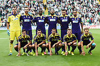 26/08/14 UEFA CHAMPIONS LEAGUE PLAY-OFF 2ND LEG<br /> CELTIC v NK MARIBOR<br /> CELTIC PARK - GLASGOW<br /> NK Maribor Team Picture