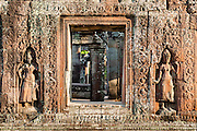 Carvings at Angkor Temples (Cambodia)