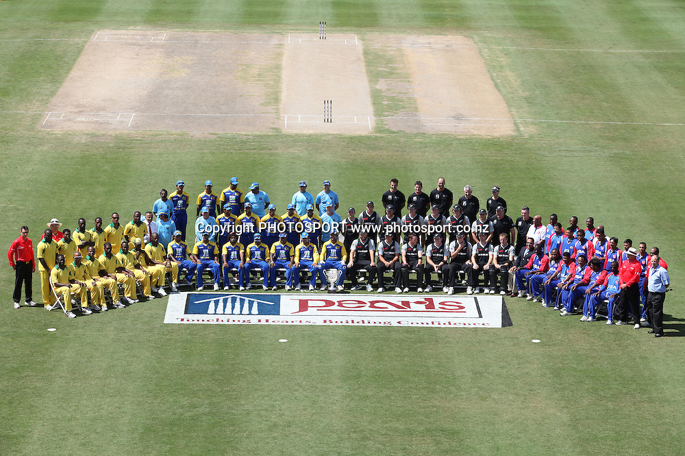 Team Photos.<br />New Zealand Black Caps v Sri Lanka, international exhibition Twenty 20 cricket match, Central Broward Regional Park, Florida, United States of America. 22 May 2010. Photo: Barry Bland/PHOTOSPORT