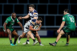 Pete Lucock of Yorkshire Carnegie runs with the ball - Mandatory by-line: Robbie Stephenson/JMP - 17/05/2017 - RUGBY - Headingley Carnegie Stadium - Leeds, England - Yorkshire Carnegie v London Irish - Greene King IPA Championship Final 1st Leg