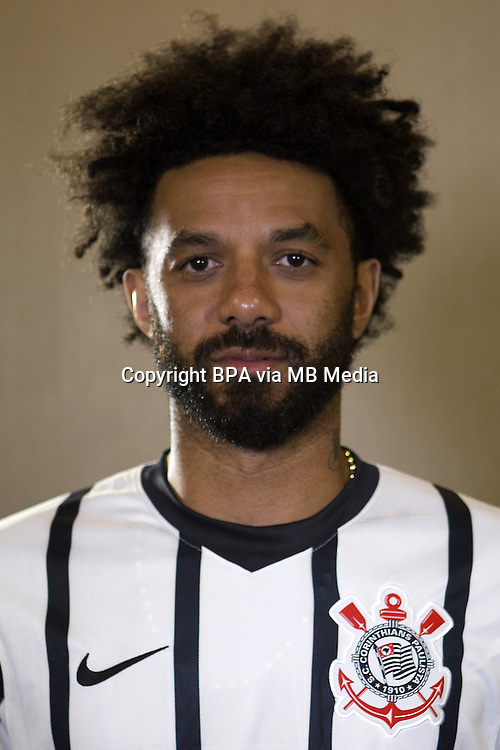 Brazilian Football League Serie A / <br /> ( Sport Club Corinthians Paulista ) - <br /> Cristian Mark Junio Nascimento Oliveira &quot; Cristian &quot;