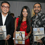 (L to R)  Jim pak, Christina Sevilla and Bharet Malhotra