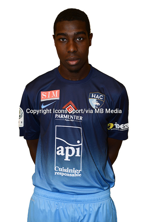 Sosthene BAH - 04.10.2013 - Photo Officielle - Le Havre -<br /> Photo : Icon Sport