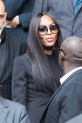 Naomi Campbell attend Peter Lindbergh's funerals at Eglise Saint-Sulpice in Paris, France on September 24, 2019. Photo by Nasser Berzane/ABACAPRESS.COM