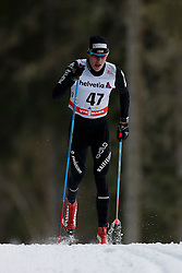 13.12.2014, Davos, SUI, FIS Langlauf Weltcup, Davos, 15 km, Herren, im Bild Livio Bieler (SUI) // during Cross Country, 15km, men at FIS Nordic world cup in Davos, Switzerland on 2014/12/13. EXPA Pictures © 2014, PhotoCredit: EXPA/ Freshfocus/ Christian Pfander<br /> <br /> *****ATTENTION - for AUT, SLO, CRO, SRB, BIH, MAZ only*****