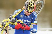 NETHERLANDS / NEDERLAND / PAYS BAS / GIETEN / CYCLING / WIELRENNEN / CYCLISME / CYCLOCROSS / VELDRIJDEN /  HANSGROHE SUPERPRESTIGE VELDRIJDEN / JUNIORS / YANNICK PEETERS (BEL) /