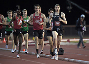 May 2, 2019; Stanford, CA, USA; Clayton Murphy wins the 1,500m in 3:37.59 during the 24th Payton Jordan Invitational at Cobb Track & Angell Field.