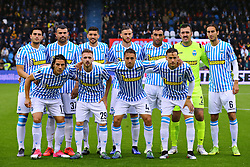 "Foto Filippo Rubin<br /> 12/05/2019 Ferrara (Italia)<br /> Sport Calcio<br /> Spal - Napoli - Campionato di calcio Serie A 2018/2019 - Stadio ""Paolo Mazza""<br /> Nella foto: FOTO DI SQUADRA SPAL<br /> <br /> Photo by Filippo Rubin<br /> May 12, 2019 Ferrara (Italy)<br /> Sport Soccer<br /> Spal vs Napoli - Italian Football Championship League A 2018/2019 - ""Paolo Mazza"" Stadium <br /> In the pic: SPAL TEAM PHOTO"