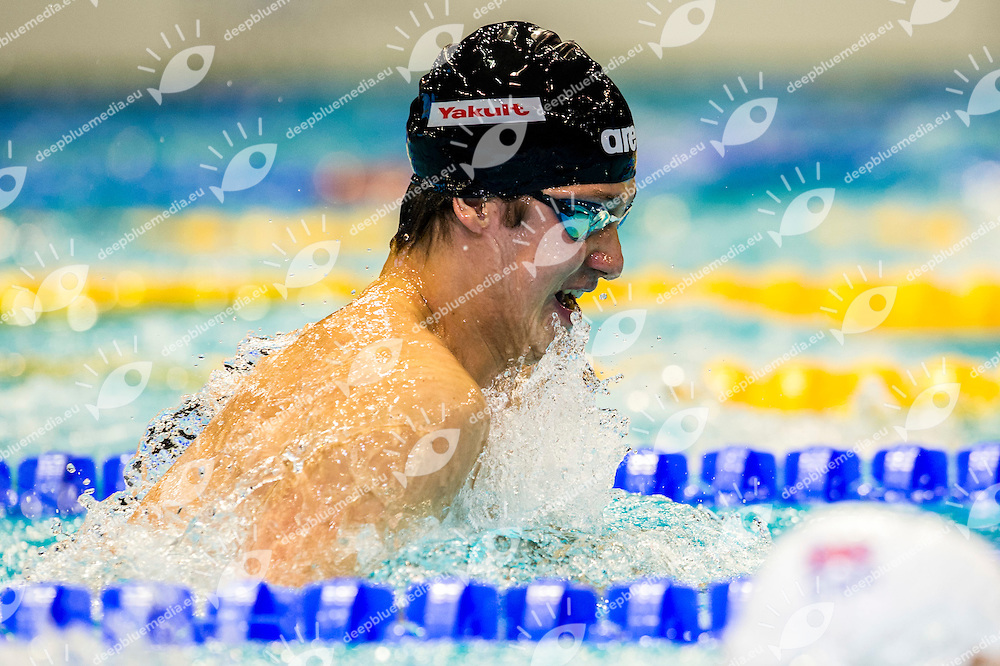 ZANKO Vsevolod RUS<br /> 100m Breaststroke Men Heats<br /> 32nd LEN European Championships <br /> Berlin, Germany 2014  Aug.13 th - Aug. 24 th<br /> Day06 - Aug. 18<br /> Photo G. Scala/Deepbluemedia/Inside