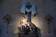 Kirche San Vicente, innen, Altstadt, Donostia-San Sebastián, Gipuzkoa, Baskenland, Spanien | San Vicente Church, Old Town, San Sebastian, Gipuzkoa, Basque Country, Spain