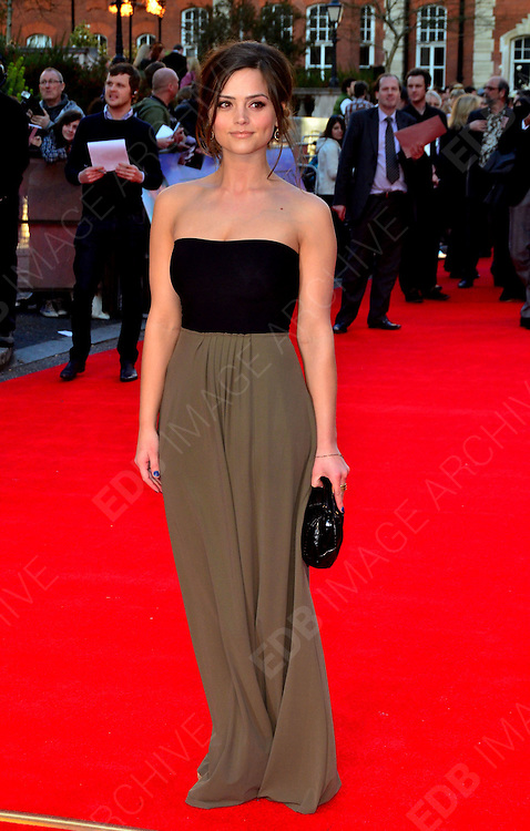 27.MARCH.2012. LONDON<br /> <br /> JENNA LOUISE COLEMAN AT THE TITANIC 3D PREMIERE HELD AT THE ROYAL ALBERT HALL IN KENSINGTON, LONDON<br /> <br /> BYLINE: EDBIMAGEARCHIVE.COM/JOE ALVAREZ<br /> <br /> *THIS IMAGE IS STRICTLY FOR UK NEWSPAPERS AND MAGAZINES ONLY*<br /> *FOR WORLD WIDE SALES AND WEB USE PLEASE CONTACT EDBIMAGEARCHIVE - 0208 954 5968*