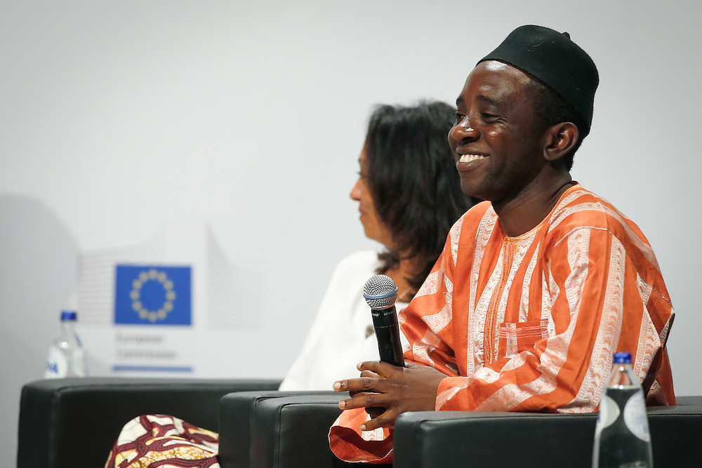 04 June 2015 - Belgium - Brussels - European Development Days - EDD - Education - Right to quality education - Chernor Bah , Member , Youth Advocacy Group , Global Education First Initiative © European Union