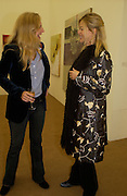 Alannah Weston and Lady Helen Taylor, Private view of the Frieze Art Fair, Regent's Park. 14 October 2004. ONE TIME USE ONLY - DO NOT ARCHIVE  © Copyright Photograph by Dafydd Jones 66 Stockwell Park Rd. London SW9 0DA Tel 020 7733 0108 www.dafjones.com