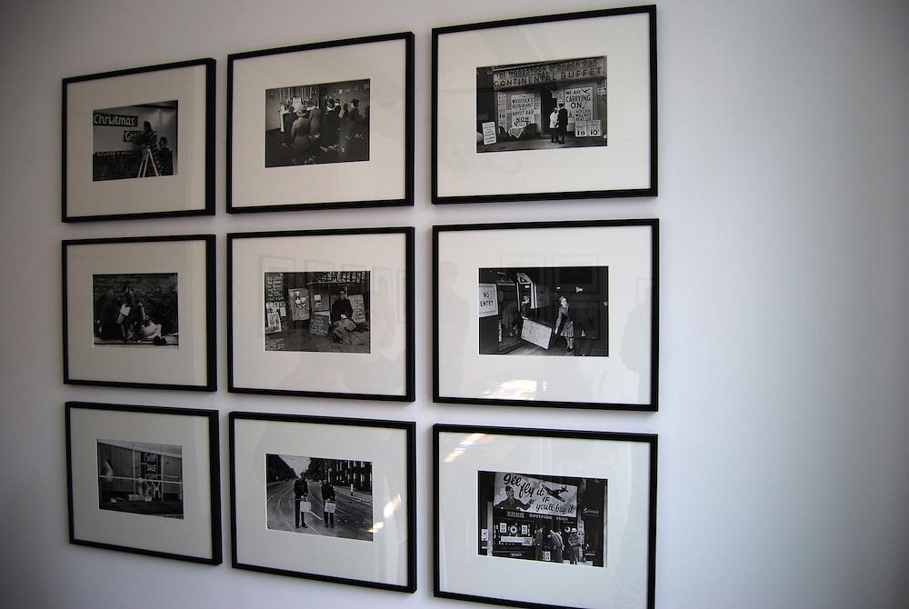 Sede de la Agencia Magnum Photos en Paris.<br /> Galeria Magnum Photos, Exhibicion de George Rodger<br /> Paris, Francia 2008<br /> (Copyright &copy; Aaron Sosa)