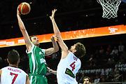 DESCRIZIONE : Kaunas Lithuania Lituania Eurobasket Men 2011 Quarter Final Round Spagna Slovenia Spain Slovenia<br /> GIOCATORE : Mirza Begic<br /> CATEGORIA : tiro penetrazione<br /> SQUADRA : Spagna Spain <br /> EVENTO : Eurobasket Men 2011<br /> GARA : Spagna Slovenia Spain Slovenia<br /> DATA : 14/09/2011<br /> SPORT : Pallacanestro <br /> AUTORE : Agenzia Ciamillo-Castoria/G.Matthaios<br /> Galleria : Eurobasket Men 2011<br /> Fotonotizia : Kaunas Lithuania Lituania Eurobasket Men 2011 Quarter Final Round Spagna Slovenia Spain Slovenia<br /> Predefinita :