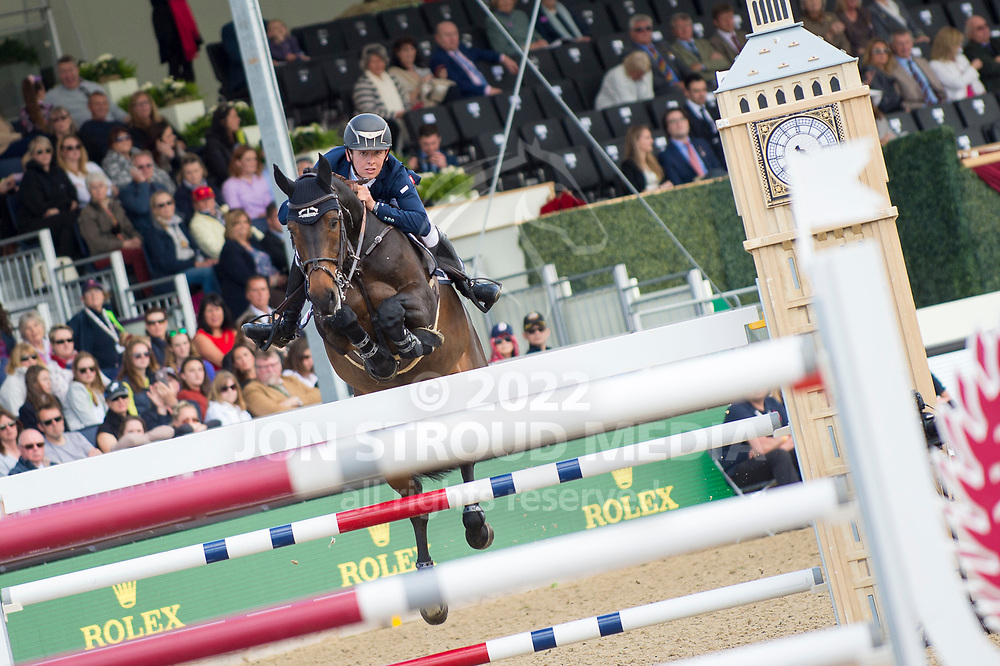 Bertram  Allen  (IRL) & Izzy By Picobello - Rolex Grand Prix - CSI5* Jumping - Royal Windsor Horse Show - Home Park, Windsor, United Kingdom - 14 May 2017