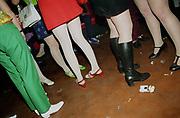 Teenagers Legs In Mod Club