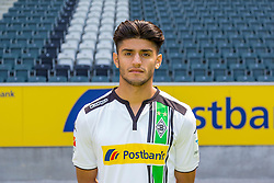 23.06.2015, Stadion im Borussiapark, Moenchengladbach, GER, 1. FBL, Borussia Moenchengladbach, Fototermin, im Bild Mahmoud Dahoud (Moenchengladbach) // uring the official Team and Portrait Photoshoot of German Bundesliga Club Borussia Moenchengladbach at the Stadion im Borussiapark in Moenchengladbach, Germany on 2015/06/23. EXPA Pictures &copy; 2015, PhotoCredit: EXPA/ Eibner-Pressefoto/ Hommes<br /> <br /> *****ATTENTION - OUT of GER*****