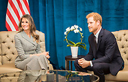 Prince Harry meets Melania Trump - 23 Sep 2017