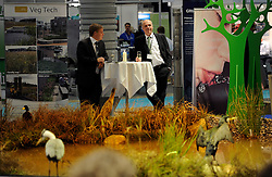Odense, Denmark, 20121120: VandTek fair in Odense Congress Center is organised by MCH in Herning. The fair is including sales and presentation stands as well as conferences all connected to water, water supply and water treatment.Photo: Lars Moeller
