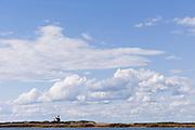 Block Island North Light lighthouse.