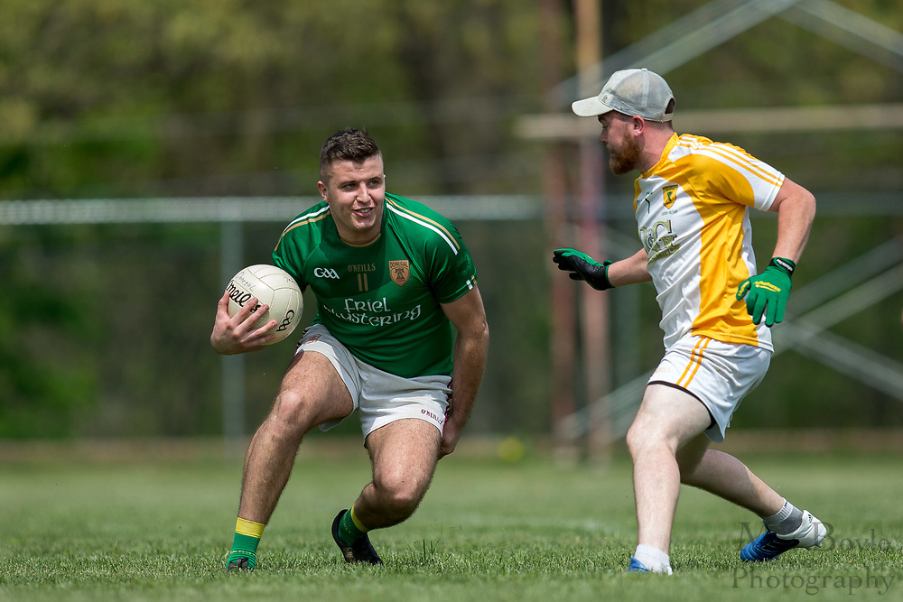 Men's Gaelic Football at the Philadelphia Gaelic Athletic Association 7s Tournament at Limerick Field Complex in Pottstown, PA on Saturday April 29, 2017. (photo / Mat Boyle)