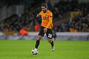 João Moutinho of Wolverhampton Wanderers during the Europa League match between Wolverhampton Wanderers and Besiktas at Molineux, Wolverhampton, England on 12 December 2019.