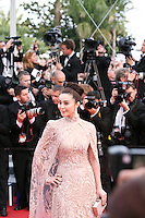 Fan Bing Bing at the gala screening of the film De rouille et d'os at the 65th Cannes Film Festival. Thursday 17th May 2012, the red carpet at Palais Des Festivals in Cannes, France.