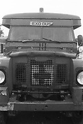 Front of Land Rover, Exodus Free Festival, Luton, 1997.
