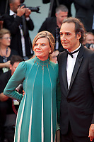 Alexandre Desplat,  Dominique Lemonnier, at the premiere of the film Suburbicon at the 74th Venice Film Festival, Sala Grande on Saturday 2 September 2017, Venice Lido, Italy.