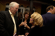 Sir Tim Rice, Petronella Wyatt and Lady Wyatt. andrew Roberts and Leonie Frieda celebrate the publication of Andrew's 'Waterloo: Napoleon's Last Gamble' and the paperback of Leonie's 'Catherine de Medic'i. English-Speaking Union, Dartmouth House. London. 8 February 2005. ONE TIME USE ONLY - DO NOT ARCHIVE  © Copyright Photograph by Dafydd Jones 66 Stockwell Park Rd. London SW9 0DA Tel 020 7733 0108 www.dafjones.com