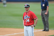 Ole Miss assistant coach Kirk McConnell (14) vs. Lipscomb at Oxford-University Stadium in Oxford, Miss. on Sunday, March 13, 2011. Ole Miss won 5-1 to sweep the series and improve to 13-4.